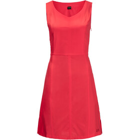 Jack Wolfskin Costa Calma Dress Women, tulip red